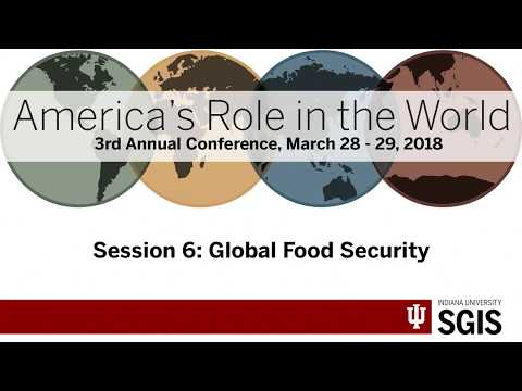 ARW 2018 - Session 6 - Global Food Security