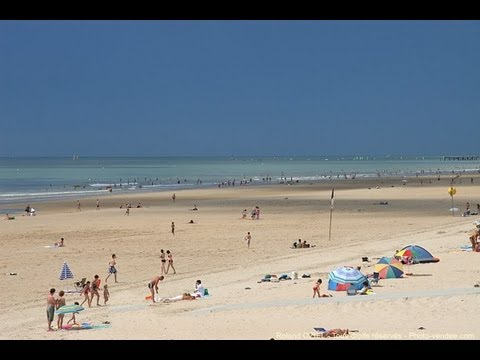 plage de saint jean de monts youtube. Black Bedroom Furniture Sets. Home Design Ideas