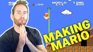 Recreating Super Mario Bros. Level 1-1 in Fortnite Creative!