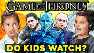 Do Kids Watch Game Of Thrones? | Kids React