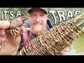 Primitive Catch and Cook Crawfish Trap /Day 17 Of 30 Day Survival Challenge  Texas