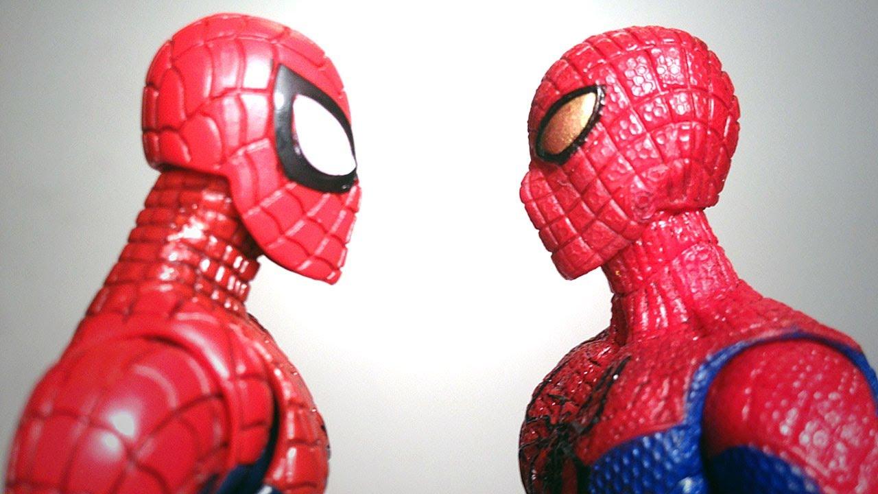 Kids Toys Action Figure: AMAZING SPIDER-MAN 1 Vs AMAZING SPIDER-MAN 2 Action Figure
