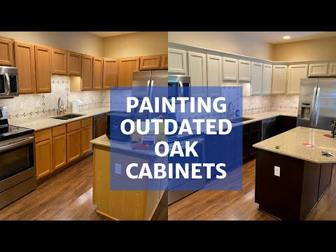 Painting Oak Cabinets - Transform Your Kitchen!