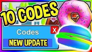 ALL 10 NEW OM NOM SIMULATOR CODES - New Update/ All Codes | Roblox