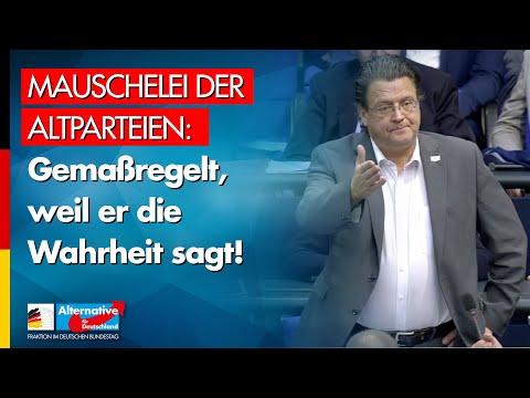 Mauschelei der Altparteien: Gemaßregelt, weil er die Wahrheit sagt! - Stephan Brandner - AfD