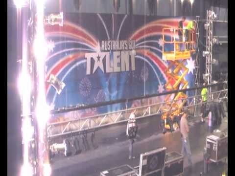 Stage set: Australia's Got Talent Lyric Theatre Sydney