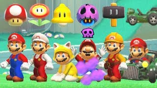 Download Super Mario Maker 2 - All Power-Ups Mp3 and Videos