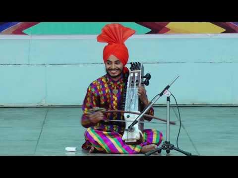 Folk instrumental solo sarangi, got gold medalist at Punjabi university  Patiala.