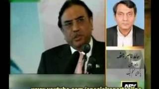 President Zardari calls Founder of Pakistan Quaid-e-Azam A Non Graduate :@