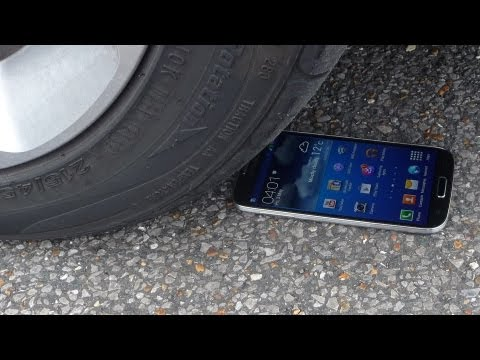 Galaxy S4 Gorilla Glass 3 Test Drive