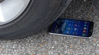 Galaxy S4 Gorilla Glass 3 Test Drive