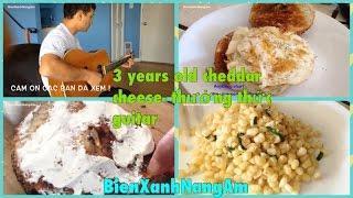 Ăn và tìm hiểu loại Phô Mai làm 3 năm mới xong- 3 year old cheddar cheese Review