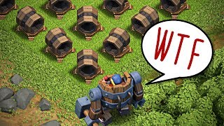 Clash of clans - БАЗА ТОЛЬКО ИЗ ГИГАНТСКИХ ПУШЕК! ТЕСТИРУЕМ БАЗУ! ПРИВАТНЫЙ СЕРВЕР!