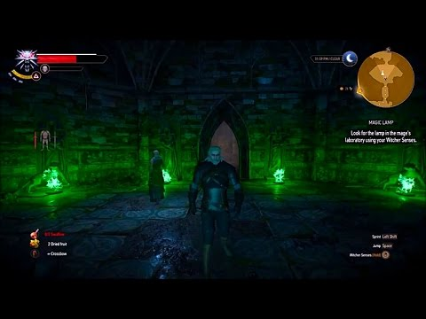 Witcher 3 : The Wild Hunt   Magic Lamp   The Four Guardians Riddle ...