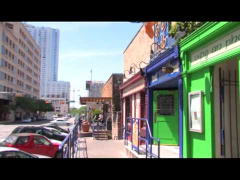Austin, Texas Tourism : Austin Tourism: 4th Street Warehouse District