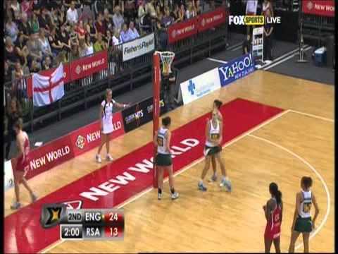 Netball: England v Proteas Quad Series 2012 Game 11