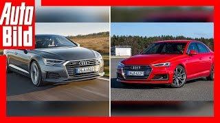 Audi A6 Gegen Audi A4 Facelift (2018/2019) Vorschau/Details