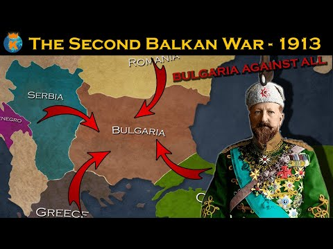 The Second Balkan War - Explained in 10 minutes