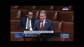 Rep. Carter on H.R. 1318 Preventing Maternal Deaths Act of 2017 (CSPAN)