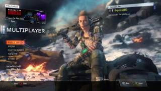 Call of duty: Black Ops 3 Zombies and multiplayer