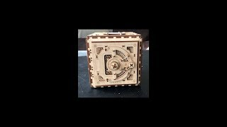 UGEARS Mechanical models Safe Box And Assembly