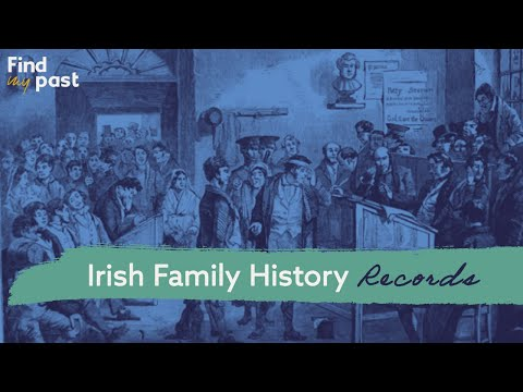 Everything you need to know about Irish family history records