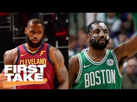 How should LeBron James feel about Kyrie Irving's success with the Celtics? | First Take | ESPN