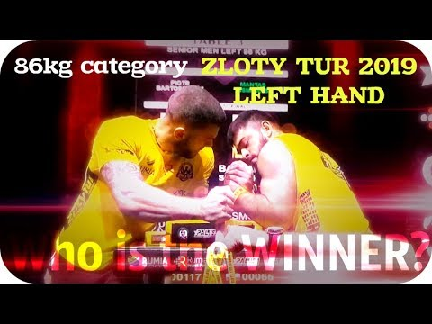 ★ ZLOTY TUR 2019 ★ 86 Category ★ LEFT HAND