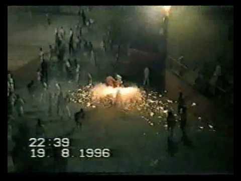 FIESTAS OTEIZA 1996 bajadica y toro