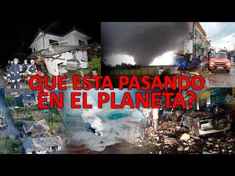 Terremotos en Japón y Ecuador Tornado en Uruguay Erupciones Volcanicas