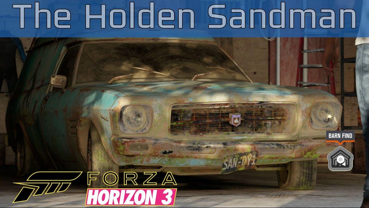 Blown Cars Wallpaper Forza Horizon 3 The Holden Sandman Barn Find Walkthrough