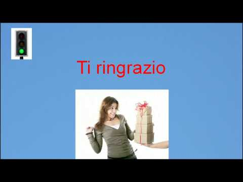 Italian lesson 2 - Common Italian expressions