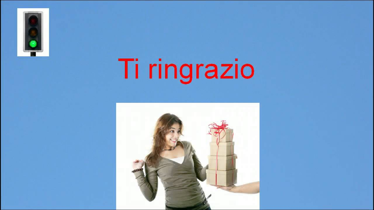 Italian lesson 2 - Common Italian expressions - YouTube