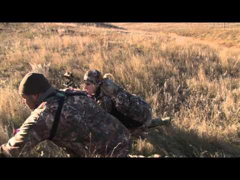 Larysa Unleashed Hunts Spot & Stalk Mule Deer With Racks Outfitters In North Dakota