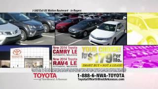 Days At Toyota Of Northwest Arkansas Camry Rav4