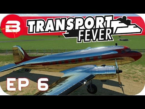 Transport Fever Gameplay - THE FLYING SCOTSMAN!! (Let's Play Transport Fever #6)
