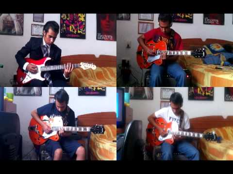 canon in d four electric guitars youtube. Black Bedroom Furniture Sets. Home Design Ideas