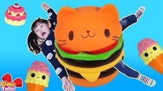 라임의 스퀴시 자르기 장난감 놀이 LimeTube & squishy collection Toy 라임튜브