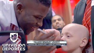 Jermain Defoe lloró por la muerte de Bradley, el niño que se ganó su corazón y el de todos
