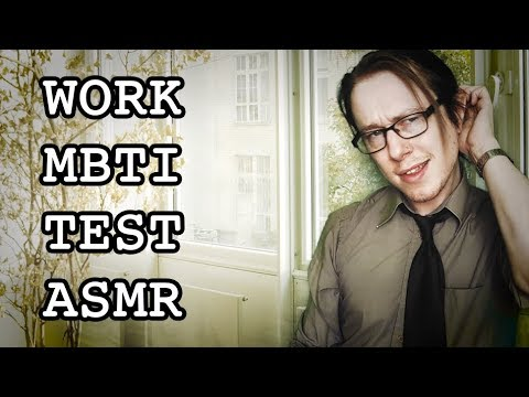 Personality Test at Work ASMR (Myers–Briggs Type Indicator Survey)