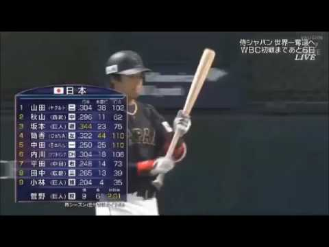 山田哲人 先頭打者ホームラン‼