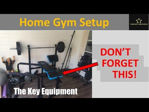How I Set Up My Home Gym - Main Equipment