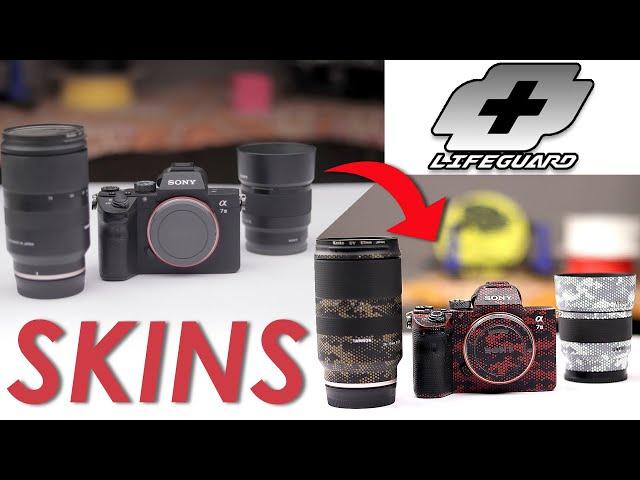 LIFE+GUARD SONY A7 III Camera & Lens Skins Urdu Hindi