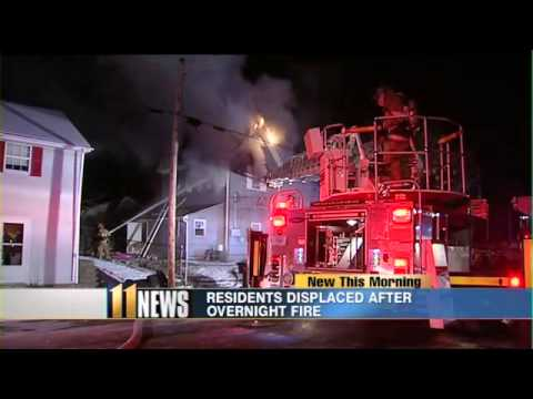 Residential fire displaces several New Albany residents