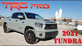 2021 Toyota Tundra TRD Pro Drive & Review || Built In Texas, Splashed With The Old School!