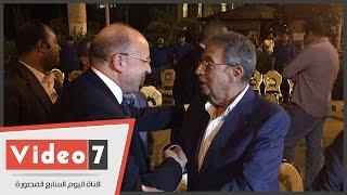 بالفيديو..عمرو موسى ووزير الصحة يشاركون فى سحور جامعة القاهرة
