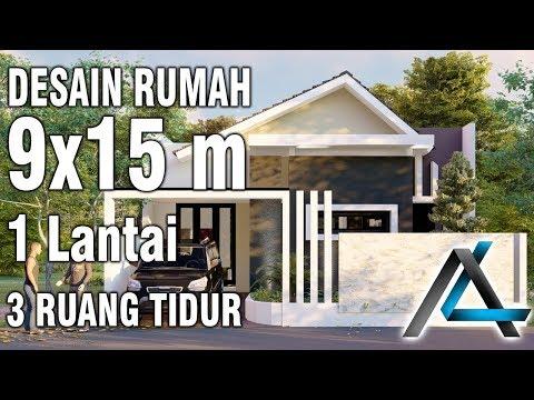 unix desain rumah ukuran 9x15 desain rumah minimalis