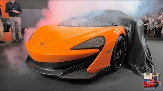 Mclaren 600LT Global Debut  - GoodWood FOS 2018