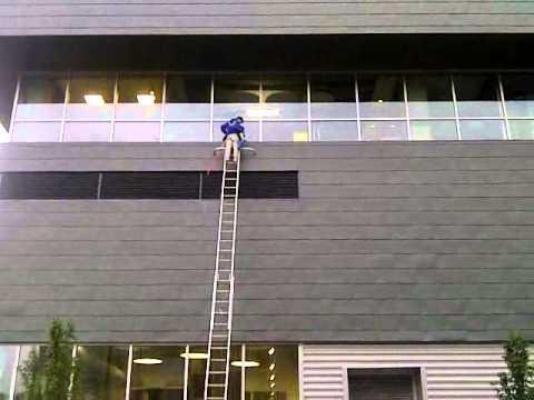 40 Ft Ladder Work Youtube