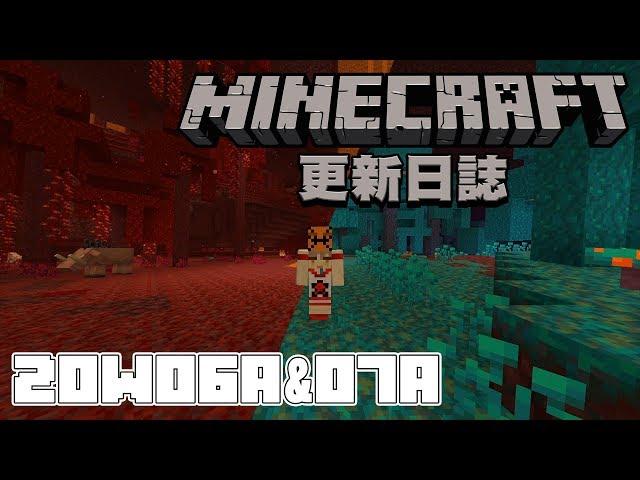 全新地獄生物來了!! 1.16地獄全都變了!! | Minecraft 更新日誌 20w06a / 20w07a